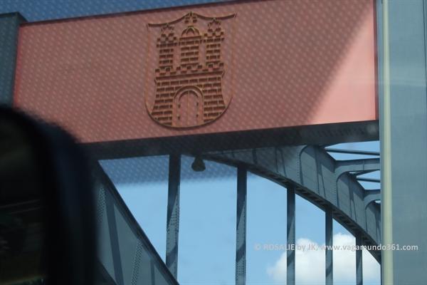 Ankommen in Hamburg (Elbbrücken)