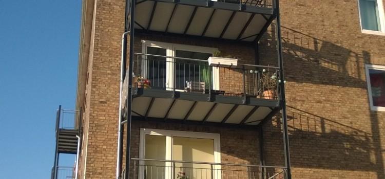 Verrückte Balkone