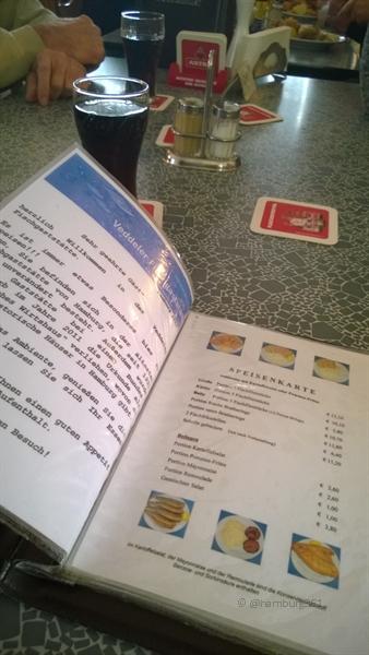 veddeler fischgaststätte menü karte - hamburg361